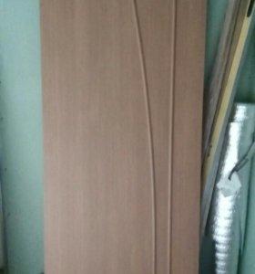 Дверное полотно новое70 см.