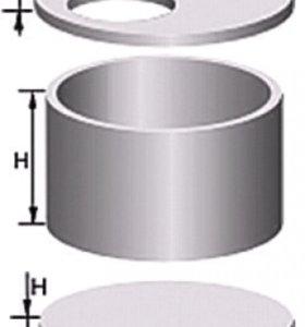 Кольца жб( железобетонные кольца, крышки, днища)
