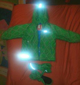 куртка reima теплая зима
