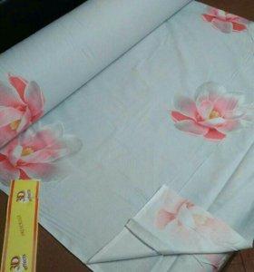 Ткань для постельного белья 3D👌👍✂️