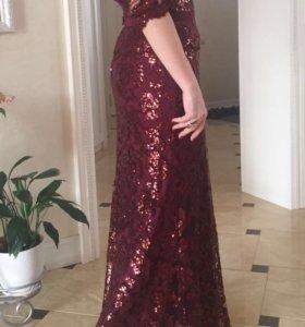 Шикарное американское Вечернее платье.