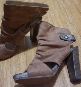 Туфли Carnaby нат.замша