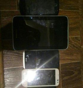 Телефоны+планшет