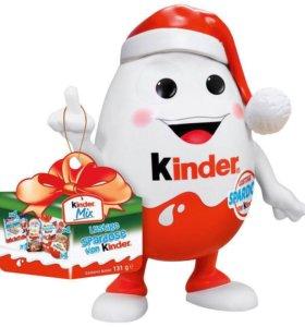 Новогодний подарок kinder
