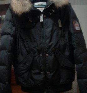 Новая мужская куртка пух. размер S