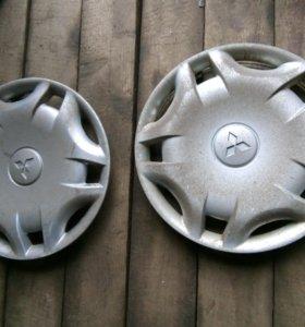 Колпаки на колеса R15 оригинал Мицубиси