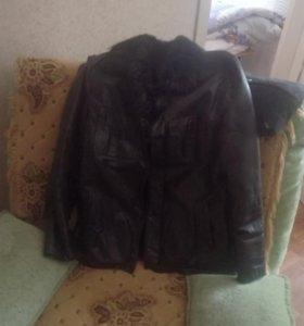 Кожаная куртка/дубленка