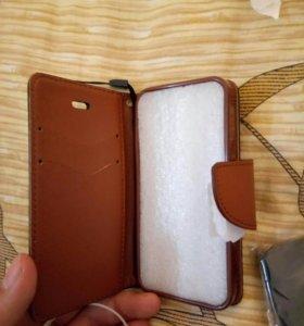 Новый чехол книжка для iphone 5S /SE