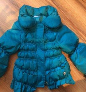 Куртка итальянская на Девочку 12-18 мес