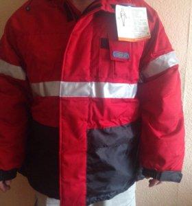 Комбинезон и куртка зимние, новые
