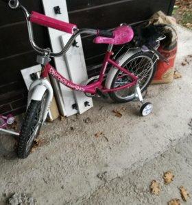 Велосипед диаметр колес 14