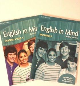 English in Mind 4 student's book, workbook
