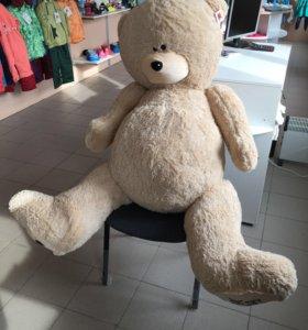 Медведь тедди бежевый