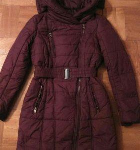 Пальто демисезонное на 11-13 лет