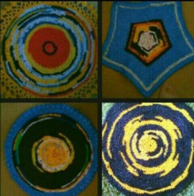 Великолепные коврики ручной работы