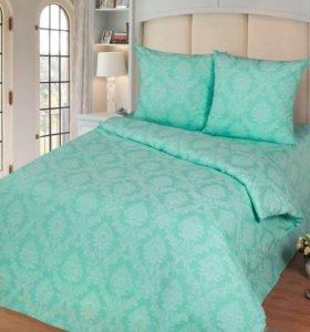 Комплект постельного белья « бирюза»