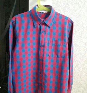 Рубашка на 8-10 лет 140 см