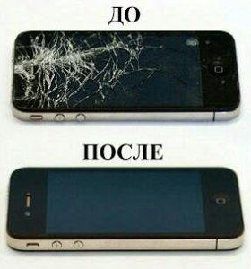 Дисплей на iPhone 4, 4s, 5, 5c, 5s с заменой