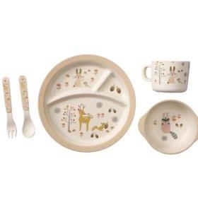 Детская ЭКО посуда