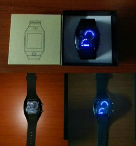 Мужские электронные часы-спидометр