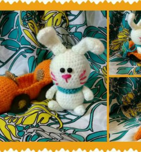 Заяц в морковьмобиле