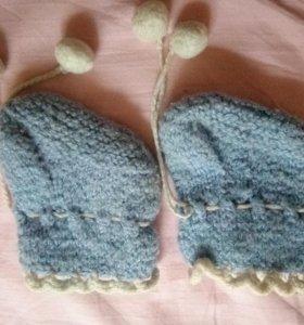 Носочки вязаные