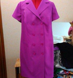 Эксклюзивное платье сшитое на заказ размер ~ 52