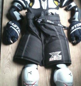 Хоккейная защитная экипировка, детская.