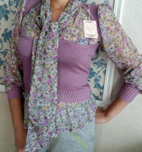 Кофта-блузка 46-50