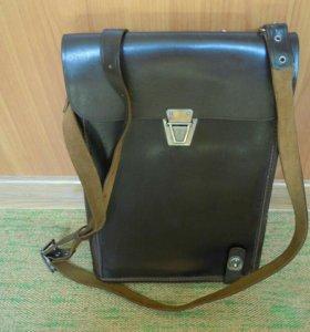 Офицерская сумка-планшет. Кожа !