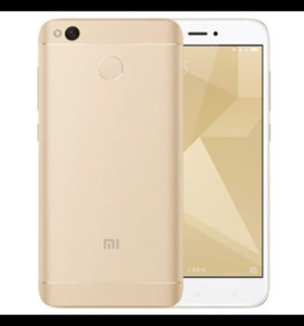 новый телефон Xiaomi Redmi 4X 3/32Gb gold.