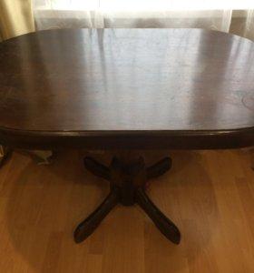 Стол деревянный и 4 стула