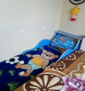 Детская кровать - автомобиль.