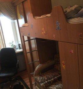 Мебель +диван , двуспальная кровать