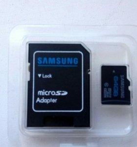 Флэш карта micro sd 64гб