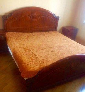 Спальный гарнитур. Спальня. Кровать.