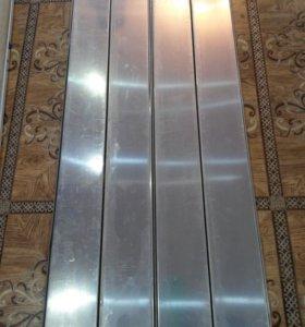 Рейки для подвесного потолка отражающим эффектом