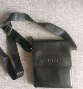 Продам новую кожаную сумку POLO
