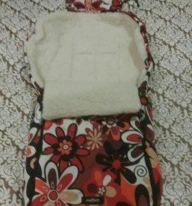 Спальный мешок в коляску