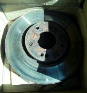 Тормозные диски на ix 35 хундай