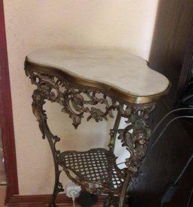 Столик,консоль из бронзы