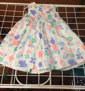 Платье на праздник на 1,5-2 года