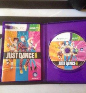 Диск Just dance 2014 на X-box 360