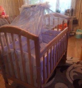 Кроватка детская. Манеж