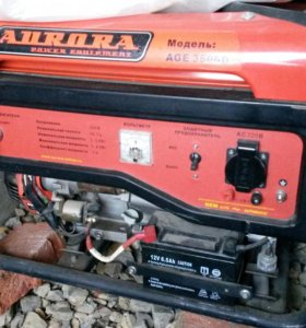 Бензиновый генератор AGE 3500D