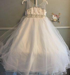 Платье нарядное для принцессы
