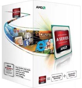 Новый комплект AMD A4 4000+ Плата + Память DDR3
