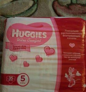 Памперсы huggies ultra comfort 5