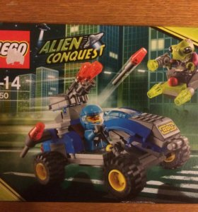 Lego Alien Conquest 7050 Alien Defender