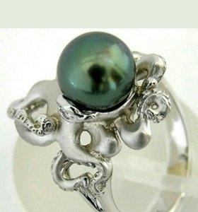 Серебряное кольцо, Осьминог,